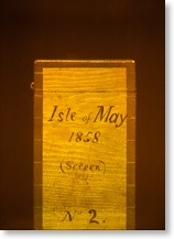 'Isle of May, 1868' hologram of the negative storage box of Charles Piazzi Smythe, Wenyon & Gamble, 1994